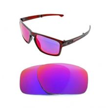 NEW POLARIZED LIGHT RED REPLACEMENT LENS FOR OAKLEY SILVER F SUNGLASSES